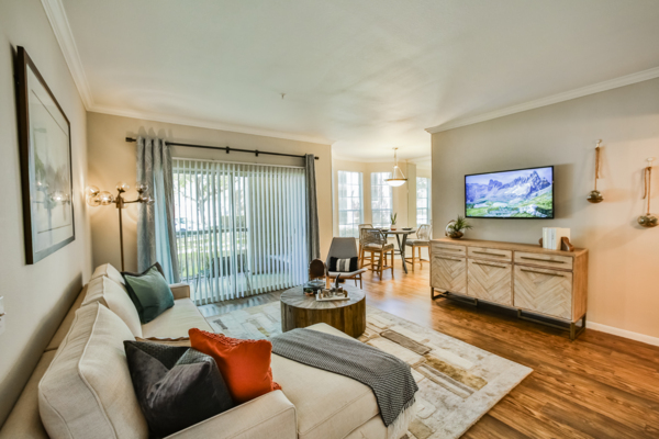 living room at Broadstone New Territory Apartments