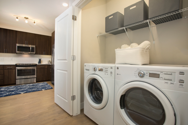 laundry room at Broadstone on 9th Apartments