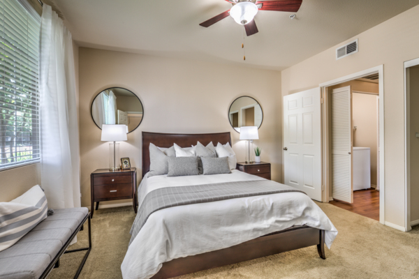Bedroom at The Paseo at Town Center
