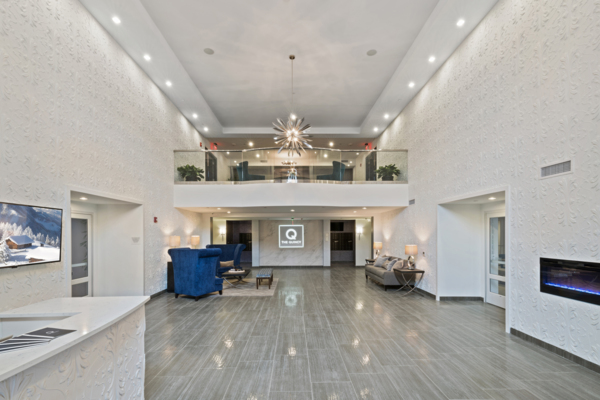 Lobby at The Quincy Apartments