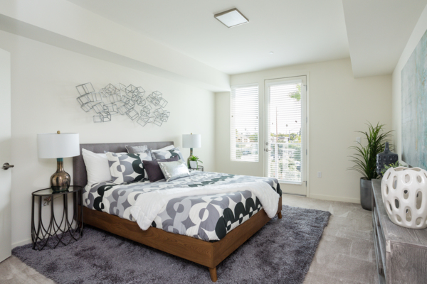 Bedroom at The Reserve at Seabridge