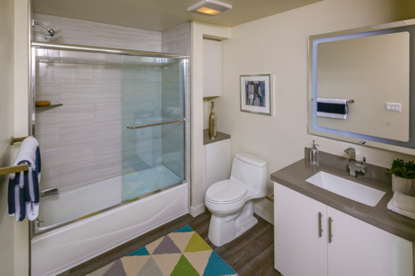 Bathroom at The Reserve at Seabridge