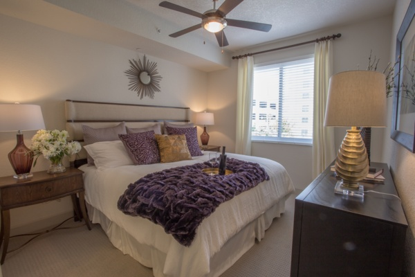 bedroom at Loftin Place Apartments