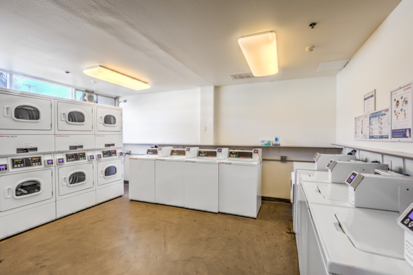 Laundry facility at The Tower at Hollywood Hills