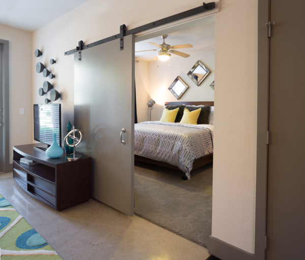 bedroom at Midtown Commons at Crestview Station