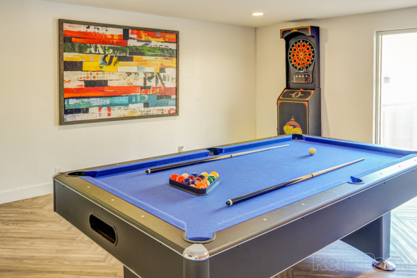 Games room at Uptown Square