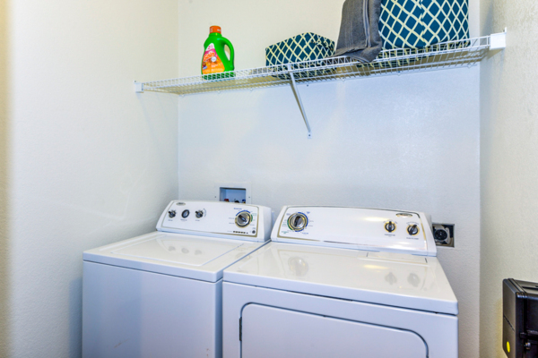 laundry room at Columns at Wakefield Apartments