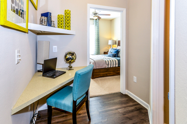 bedroom/office at Columns at Wakefield Apartments