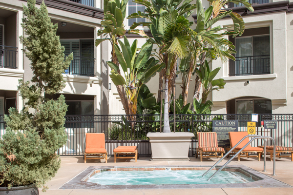hot tub/jacuzzi at Regents La Jolla Apartments