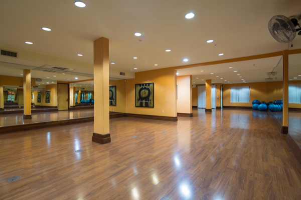 fitness studio at Regents La Jolla Apartments