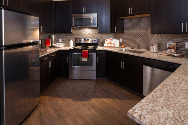 kitchen at Midtown Common at Crestview Station Phase II