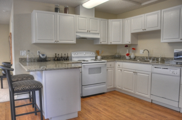 kitchen at Pacific Terrace West Apartments