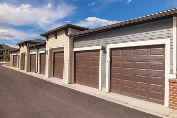 garage at Outlook Littleton Apartments