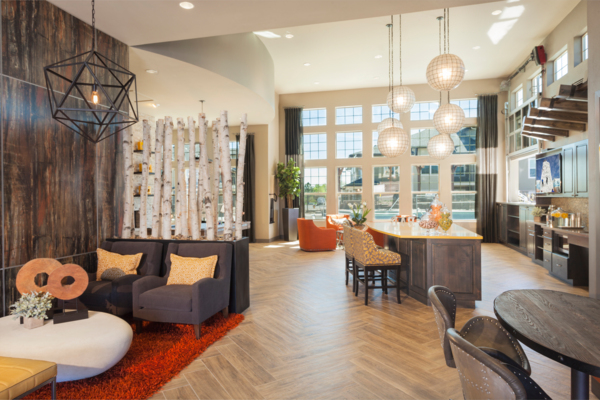 clubhouse at Outlook Littleton Apartments