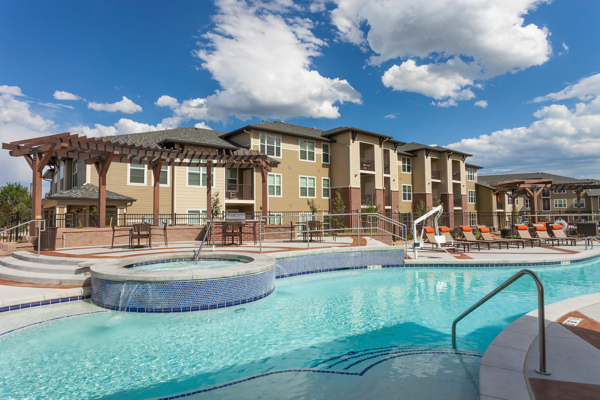 pool at Outlook Littleton Apartments