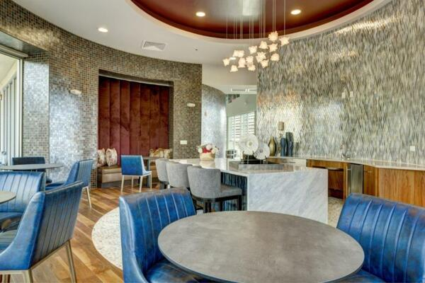 clubhouse at Parq at Iliff Apartments