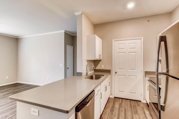 kitchen at Mountain Gate Apartments