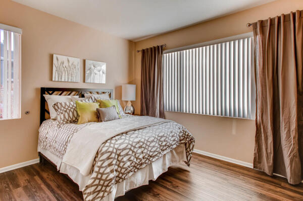 bedroom at Mountain Gate Apartments