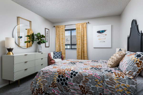 bedroom at Vista at Trappers Glen Apartments