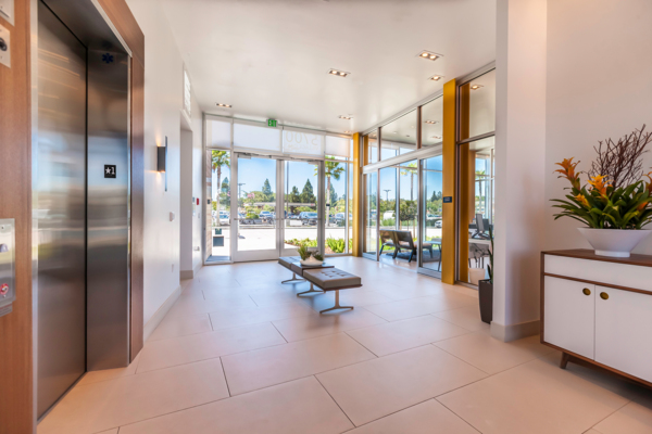 Club house elevators at VIO