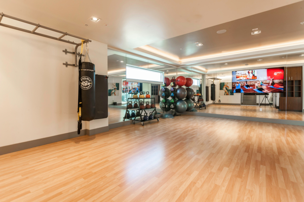 Fitness room at VIO