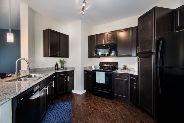 kitchen at Waterford at Southlands Apartments