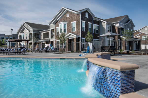 pool at Waterford at Southlands Apartments