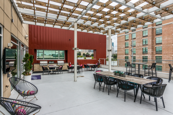 patio/balcony at The Guthrie North Gulch Apartments