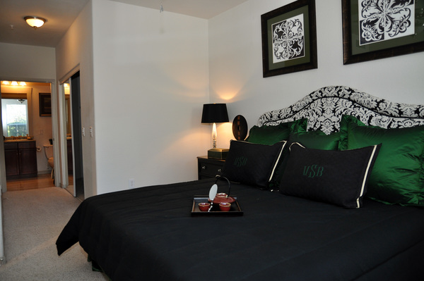 bedroom at Avanti Cityside Apartments