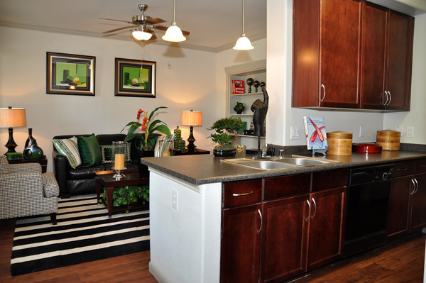 kitchen at Avanti Cityside Apartments