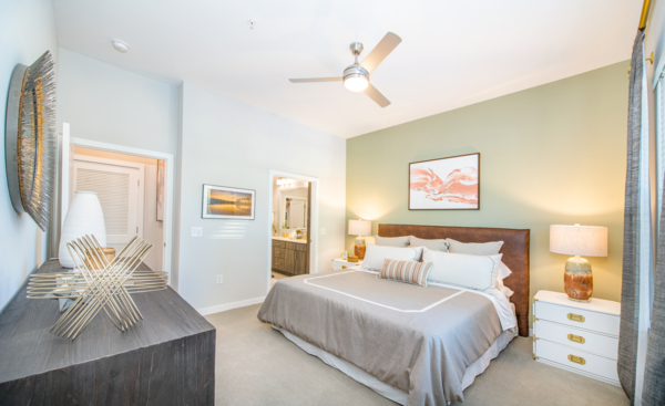 bedroom at Overture Centennial Apartments