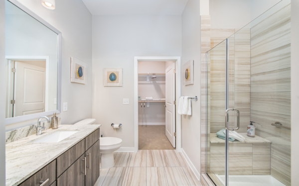 bathroom at Overture Centennial Apartments