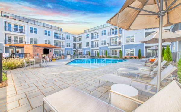 pool at Overture Centennial Apartments