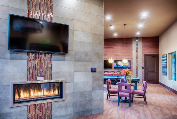 clubhouse/lobby at Rockrimmon Apartments