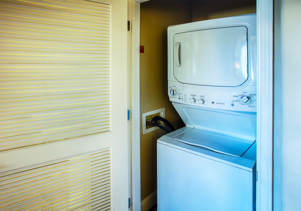 laundry room at Rockrimmon Apartments