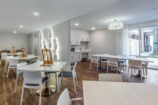 artist studio at Overture Providence Apartments