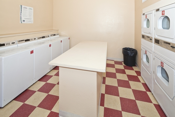 laundry facility at Hidden Cove Apartments