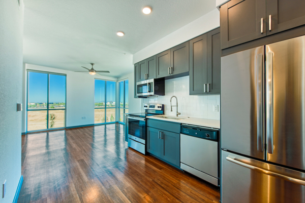 kitchen at Elevation San Tan Apartments