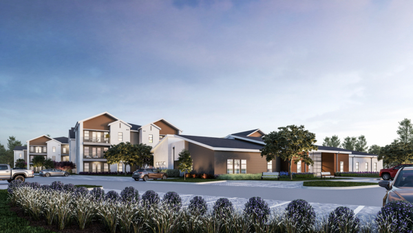 rendering for Album Benbrook Apartments