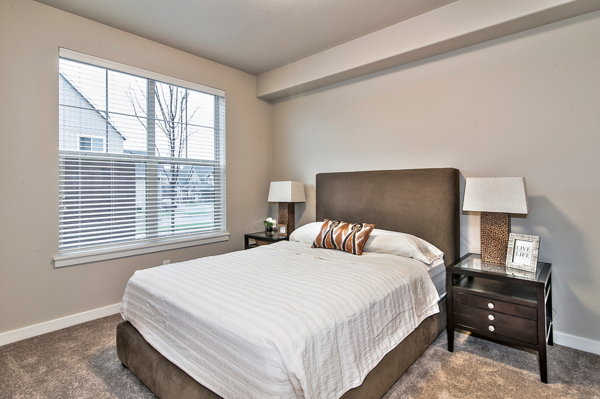 bedroom at Springville Oaks Apartments