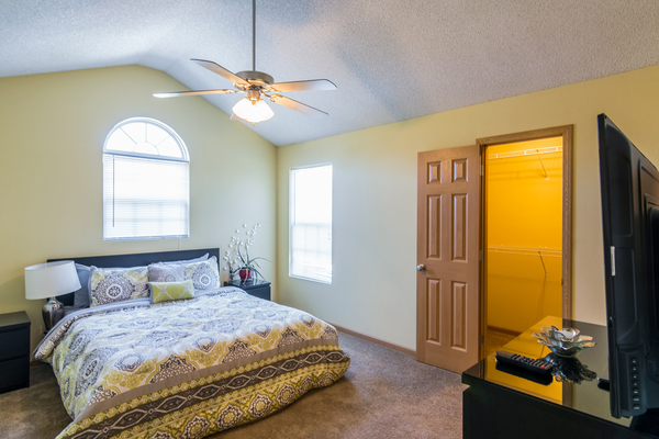 bedroom at Patriot Pointe Townhomes