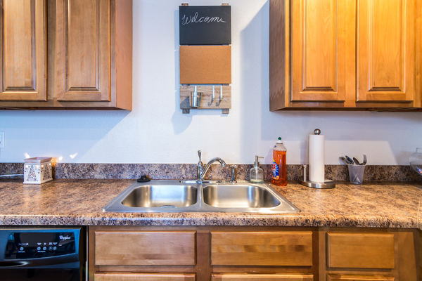 kitchen at Patriot Pointe Townhomes