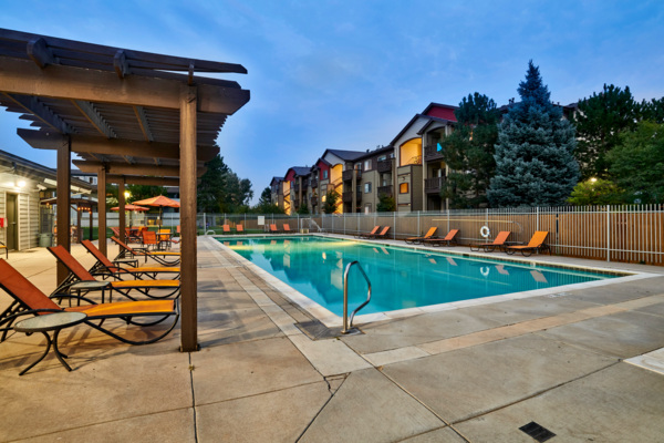 pool at Novi at Lowry Apartments