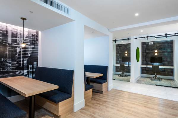 meeting facility/business center at Revela Apartments