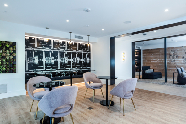 clubhouse/meeting facility at Revela Apartments