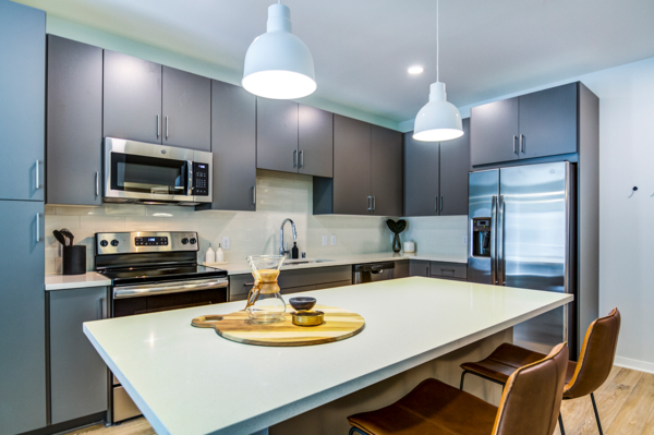 kitchen at The Fenley Apartments