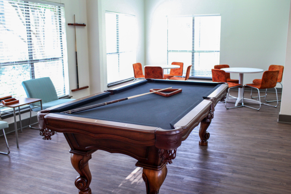game room at The Westside Apartment Homes