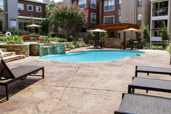 pool at The Westside Apartment Homes