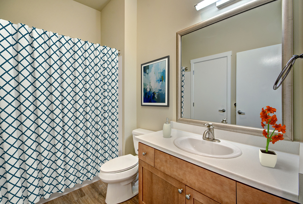 bathroom at Chelsea Heights Apartments