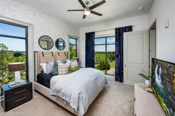bedroom at View at Woodstock Apartments